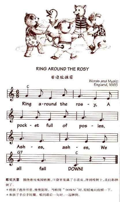 儿童英语歌曲 ring around