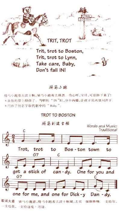 儿童英语歌曲 trot to